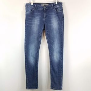 Zara Jeans Skinny Fit Medium Wash Size 12